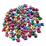 Forfar 8*6mm Jingle Bells 100/Pack Mixed Colour