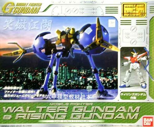 MOBILE SUIT IN ACTION !! Walter Gundam Rising Gundam