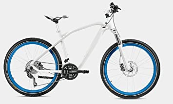 Original Bmw Cruise Bike Bicycle 2014 Model In Blue White Size M