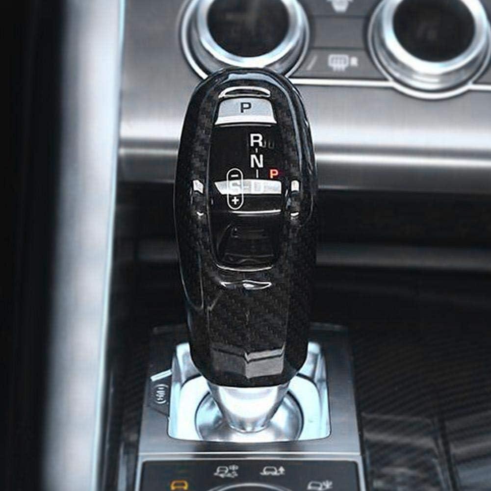 1 PC aus Kohlefaser-Style-Auto-Schaltknaufabdeckungs-Zierleiste f/ür Land Rover Range Rover Sport 2014-2017. Outbit Schaltknauf