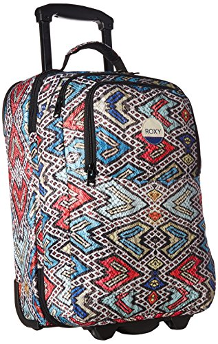Roxy Women's Wheelie Carry-on Suitcase, Regatta Soaring Eyes
