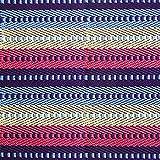 Pragoo Colorful Cotton Rug Hand Woven Striped Area Rug Kitchen Living Room Floor Mat Washable Indoor Carpet 60 * 130cm