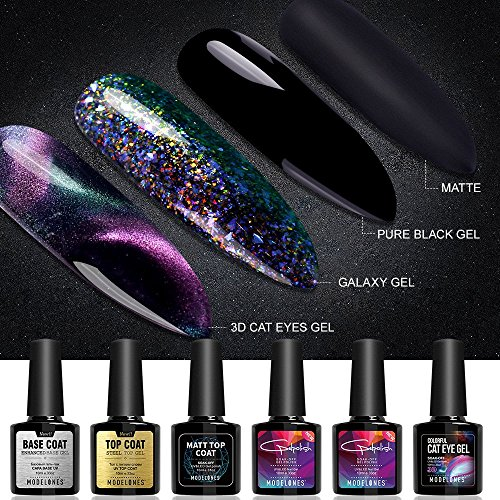 Modelones Gel Nail Polish Collection - 3D Cat Eyes Chameleon