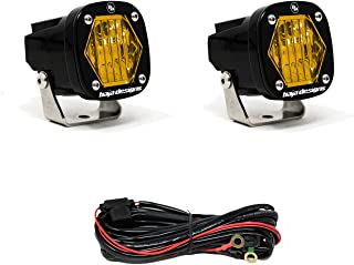 product image for Baja Designs S1 LED Pair, Wide Cornering, Amber