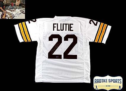 brand new 36429 8d8c5 Doug Flutie Autographed/Signed Boston College Custom Jersey ...