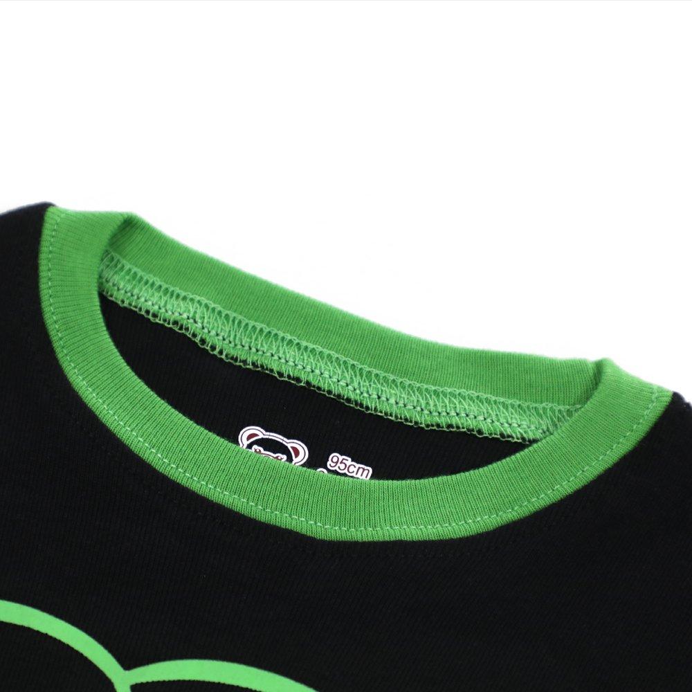 Boys Christmas Pajamas Pjs for Girls Sleepwear Children Clothes Stripe Pants Set Size 8 by BebeBear (Image #5)