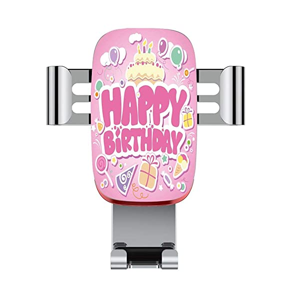 Metal Automatic Car Phone HolderBirthday Decorations For KidsCartoon Seem Party Image Balloons