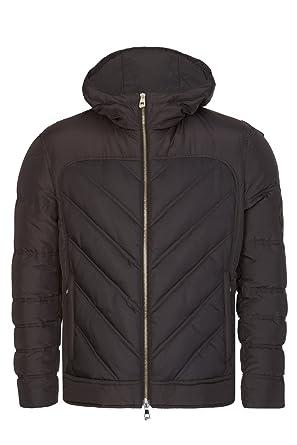 1bdd9cb466f6 Amazon.com  Versace Collection Full Zip Short Down Jacket  Clothing