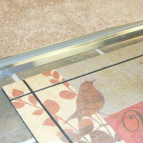 Adjustable Aluminum Door Threshold with Vinyl Seal - #99014 by Custom Door Thresholds (Image #3)