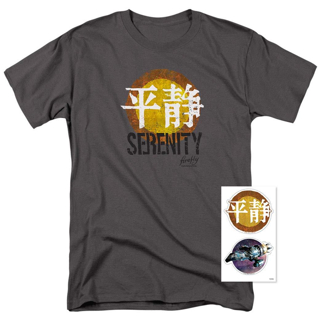 893aed09c Amazon.com: Firefly Blue Sun Logo Sci-Fi TV Show T Shirt: Clothing