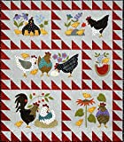 Bonnie Sullivan Woolies Flannel Here a Chick, There a Chick Quilt Kit Maywood Studi