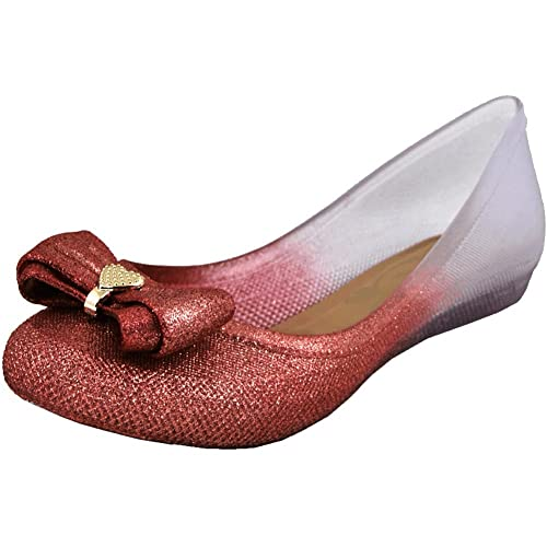0d8a16ee05f97 Mary Pepper Mayorca Women's Jelly Flat Beach Shoes