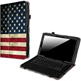 """Fintie 2018 RCA Galileo Pro/RCA 11.6"""" HD/Maven Pro Case - PU Leather Cover for 11.5"""" RCA Galileo Pro / 11.6"""" Maven Pro, Compatible with Cambio W1162 V2 / W116 11 inch 2-in-1 Tablet, US Flag"""