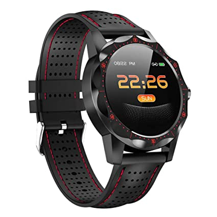 Ritapreaty Smart Watch Men, Activity Fitness Tracker Smartwatch Clock Brim para Android iOS IP68 a Prueba de Agua