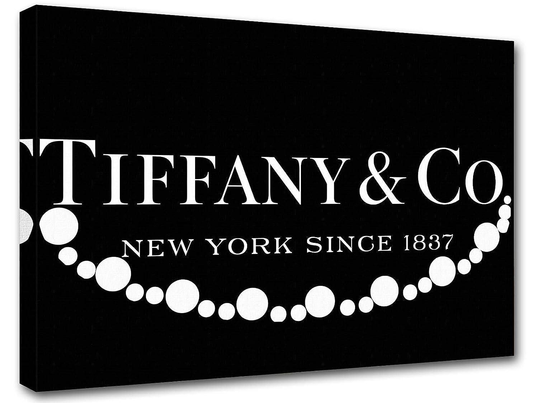 Amazon.de: Rahmen Moderne Tiffany & Co Perle Druck auf Leinwand ...