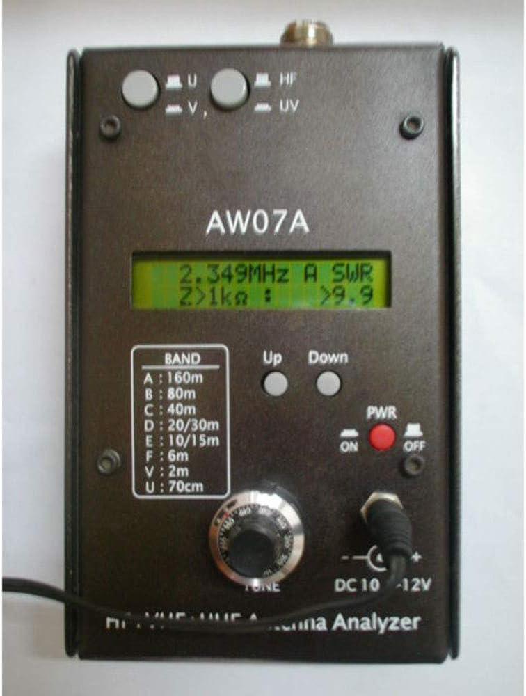 MASODHDFX AW07A HF VHF UHF 160M Impedancia ...