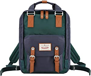 himawari 15 Inch School Travel Backpack for Women Men Waterproof 14 inch Laptop Compartment Bag for College (HIM-50#)