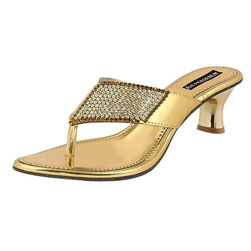 c37b797ba2d ABJ Fashion Women s Synthetic Suede Kitten Heels  Buy Online at Low ...