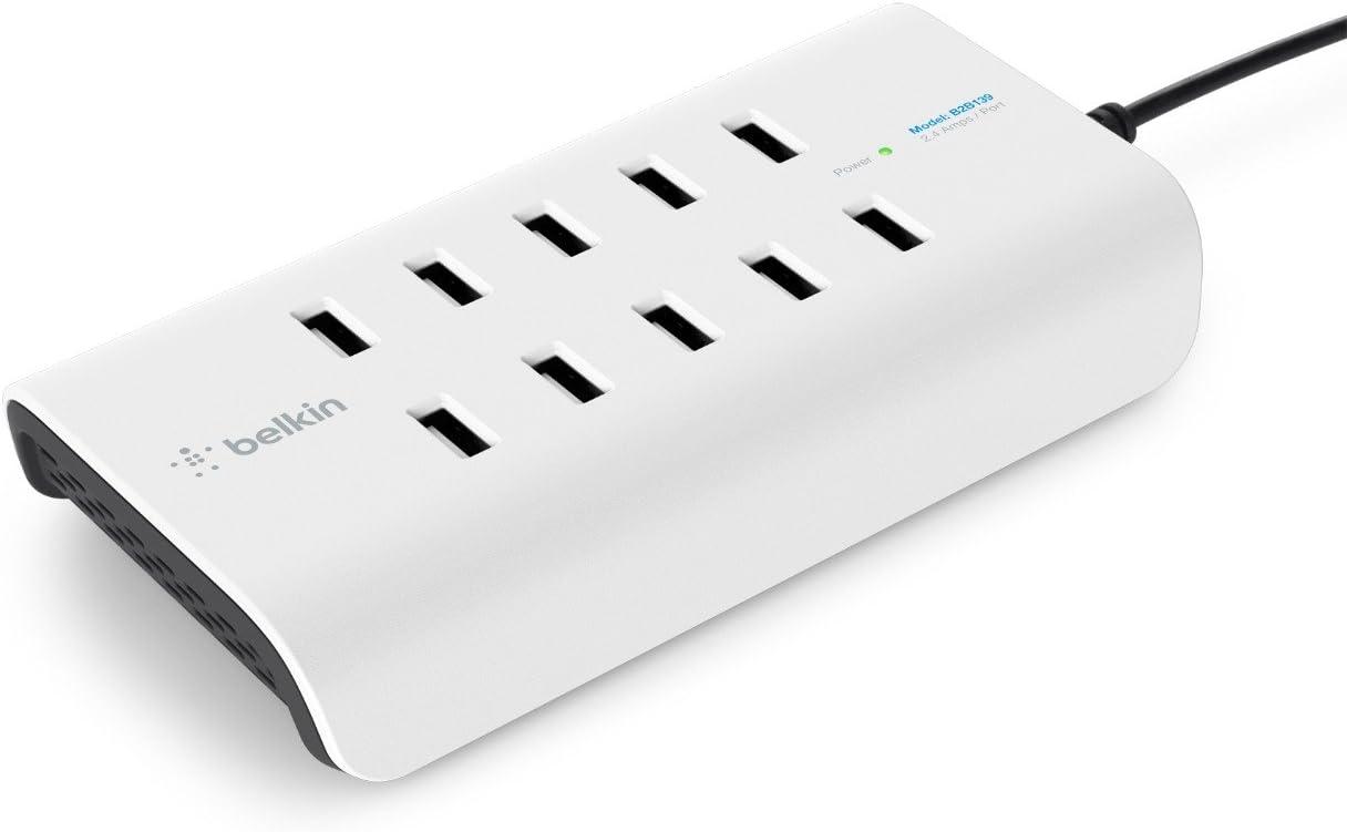Belkin RockStar 10-Port USB Charging Station Power Strip (2.4 Amp per Port)