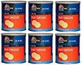 Mountain House Pilot Crackers #10 Can Freeze Dried Food - 6 Cans Per Case