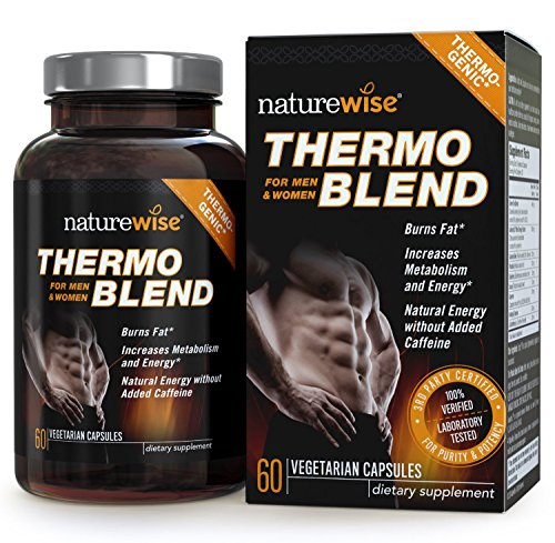 NatureWise Thermo Blend **NEW Advanced Formula** Thermogenic Fat Burner for Weight Loss and Natural Energy