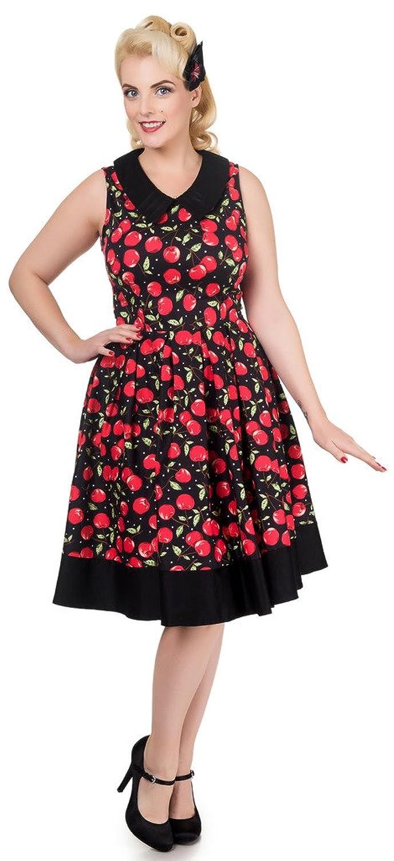 Dolly and Dotty™ \'Hazel\' 50er Jahre Vintage Kleid mit Kragen V ...