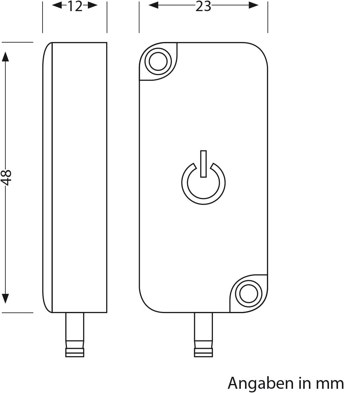ledscom.de Touch-Dimmer Atom Schalter