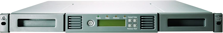 HP StoreEver 1/8 G2 LTO-4 Ultrium 1760 SAS Tape Autoloader, AK377B (Renewed)