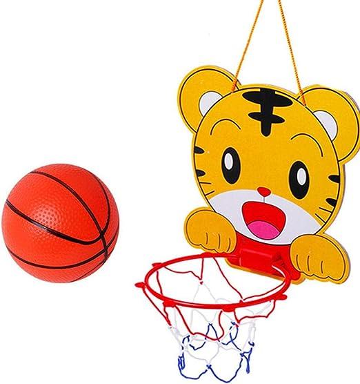 AOLVO - Mini aro de Baloncesto para Colgar en Interiores, Juego de ...