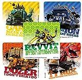 50 Dinotrux Stickers