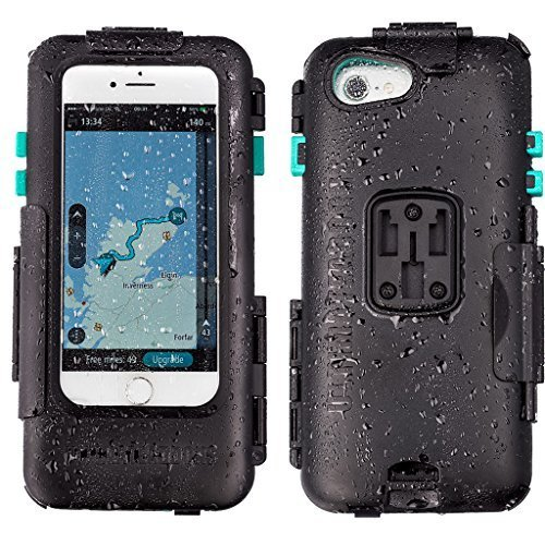 iPhone 専用 ハードケース バイク 自転車 アウトドア 防水防塵耐震(IPX5) iPhone 6 / 6S / 7 / 8 専用設計 ※マウント別売 UA-HARDWPI747