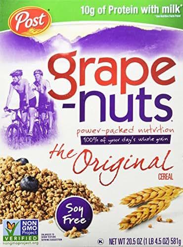 Breakfast Cereal: Grape Nuts