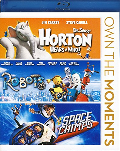 Horton Hears a Who! / Robots / Space Chimps (Triple Feature)