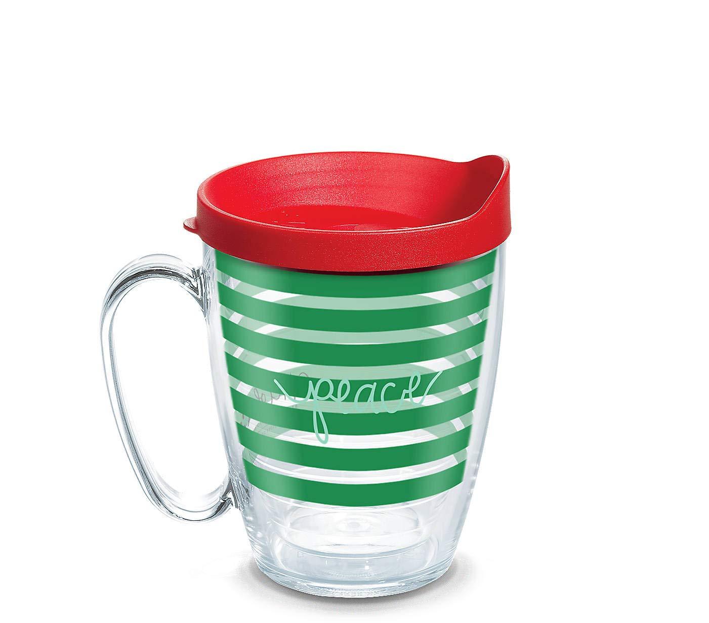Tervis Coton Colors Peace Wrap with Lid 16 Ounces Mug