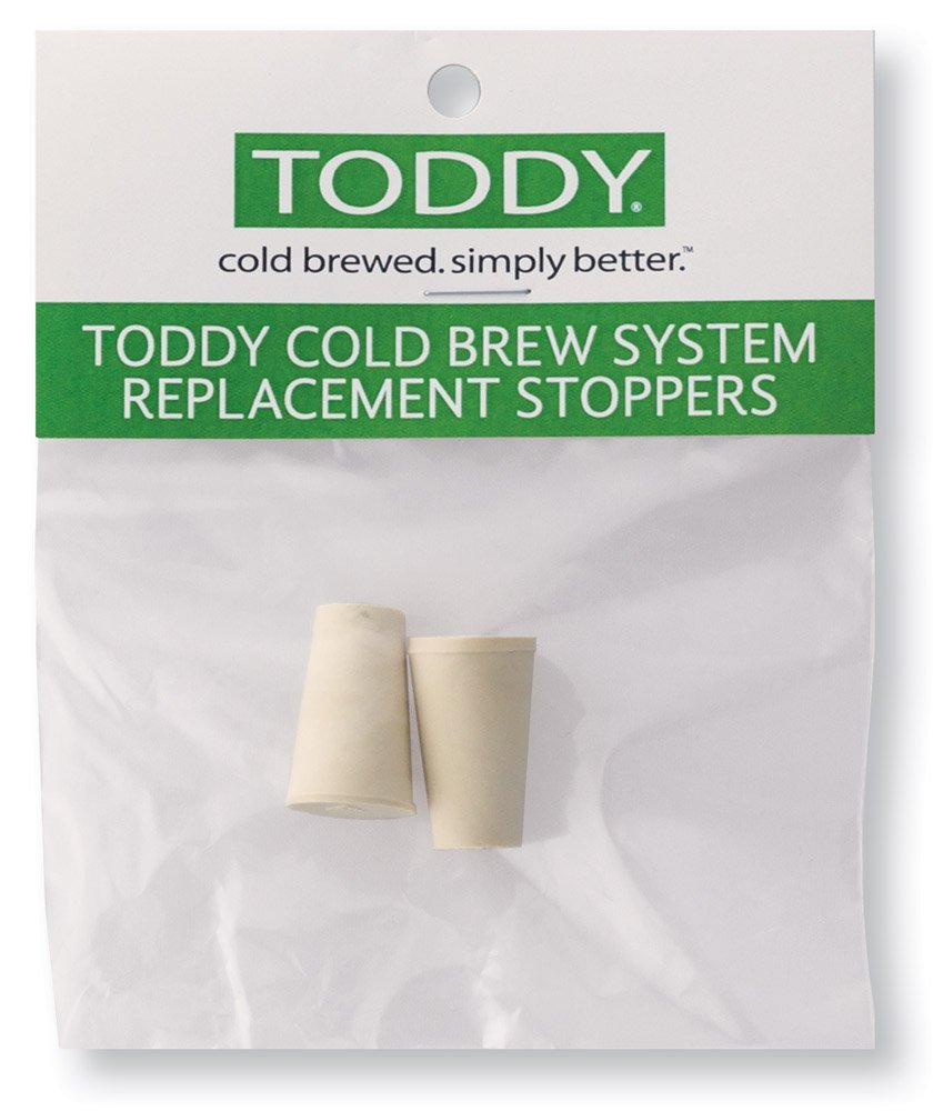 Toddy Cold Brew Coffee System, Rubber Stoppers, Set of 2 THMRS2