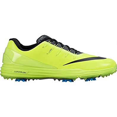 Nike Lunar Control 4 Golf Shoes 2017 Volt/Photo Blue/Black Medium 9.5