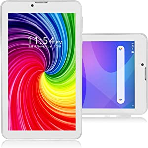 Indigi 7-inch Android Pie Tablet, 4G LTE GSM Unlocked (QuadCore, 2GB RAM / 16GB ROM) WiFi Enabled, Bluetooth Sync
