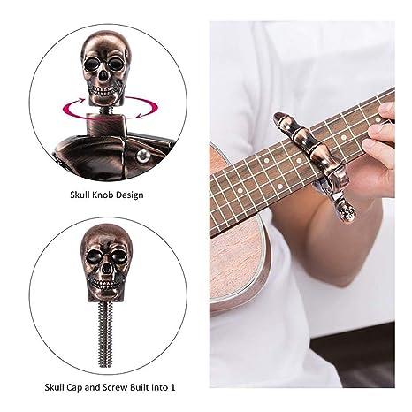 DonLucancy Guitarra acústica Clip afinado Accesorios para ...