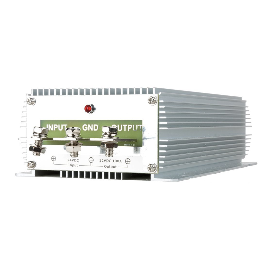 Conversor de tensão DealMux DealMux Nova High-Power Regulator DC 24V Step-down para DC 12V 100A 1200W Car Truck Poder Buck Transformer
