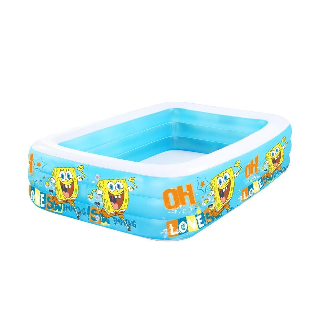 Tragbare aufblasbare Kinderbadewanne, faltbares Duschbad für Kinder (Farbe : 2)