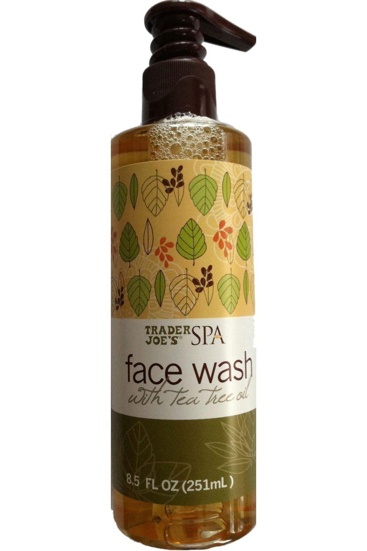 Trader Joe's SPA Face Wash with Tea Tree Oil 8.5 oz by Trader Joe's Trader Joe' s