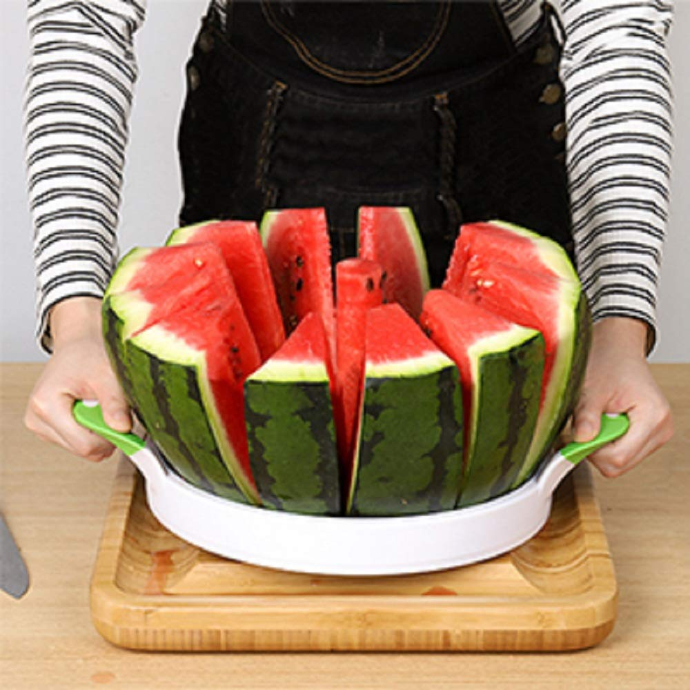 Watermelon Slicer Cutter Large Stainless Steel Melon Fruit Vegetable Kitchen Gadgets Tools by NEX