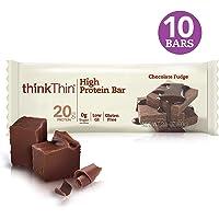 Think Thin Barras de Proteína, Chocolate Fudge, 60 g