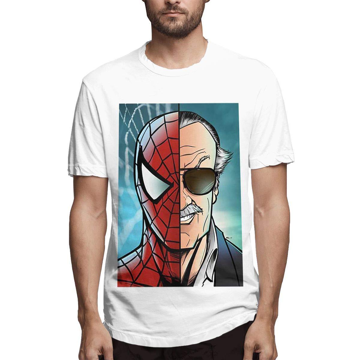 Ploewvgtee Stan Lee Marvel L Shirts