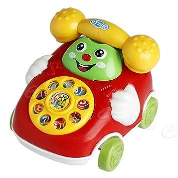 New Design Baby Toys Music Cartoon Phone Educational Developmental Kids Toy Gift
