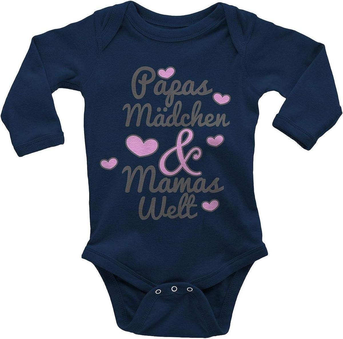 Baby Strampler Wei/ß MEA BABY Unisex Baby Strampler mit Spruch Mamas /& Papas Schatz,100/% Baumwolle Baby Strampler f/ür M/ädchen Baby Strampler f/ür Jungen.