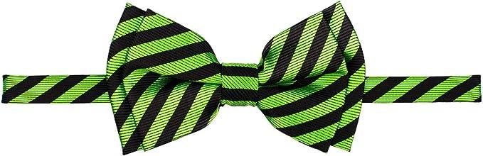 Retreez Striped Woven Pre-tied Boys Tie