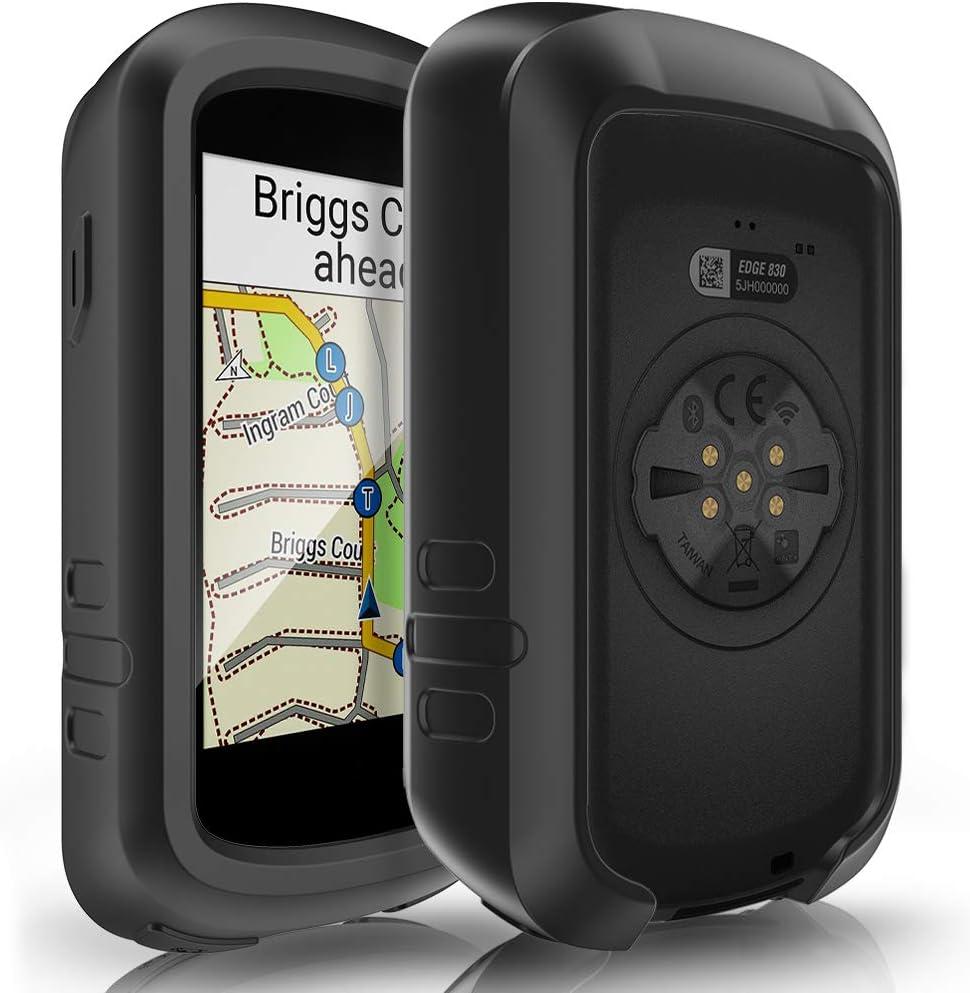 WEINISITE Fundas para Garmin Edge 830,Silicona Suave Cubierta Protectora para Garmin Edge 830 Bicicleta GPS Navegaci/ón