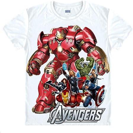 LIFENGWY Camiseta de Equipación de Manga Corta Sportswear The Crew Neck tee Camiseta para Tops Tees Polos Suave Unisex Impresión 3D De Cotton/Polyester Casual Verano Camisa Thor