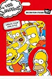 The Simpsons decoration stickers vinyl waterproof 12pcs (Homer)